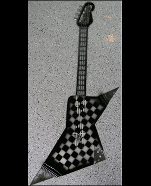 Checkered Flag Steel Guitar