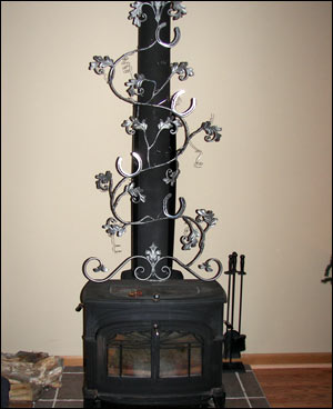 Wood Stove Ornamental Accessory